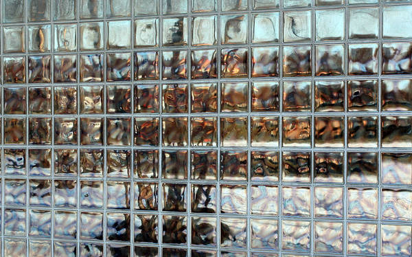 Modern Photgraphy Poster featuring the photograph Fractured Reflections by Scott Heister