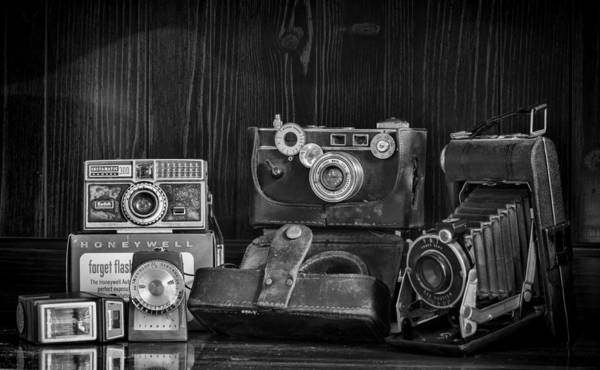 Camera Poster featuring the photograph Gathering Dust I by Heather Applegate