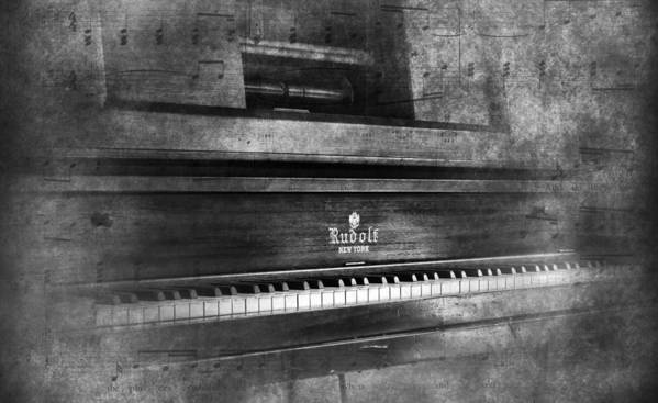 Player Piano Poster featuring the photograph Play Me A Memory by Peter Chilelli