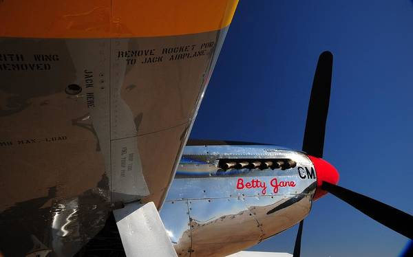 P51 Photographs Poster featuring the photograph Proud Betty Jane by Jim Harris