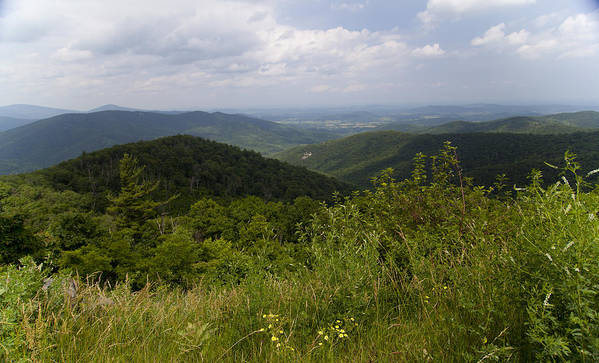 Shenandoah Poster featuring the photograph Shenandoah National Park - Skyline Drive by Christina Durity