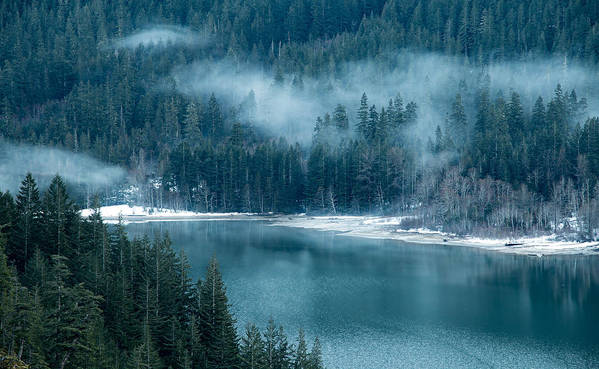 Washington Poster featuring the photograph Thunder Lake by Ryan McGinnis
