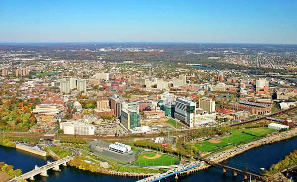 University City Poster featuring the photograph University City Philadelphia Pennsylvania by Duncan Pearson