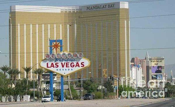 Vegas Poster featuring the photograph Viva Las Vegas by Barb Montanye Meseroll