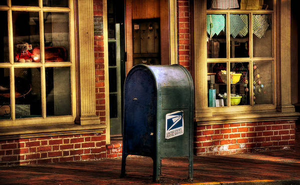 Mail Box Poster featuring the photograph You Got Mail by Todd Hostetter