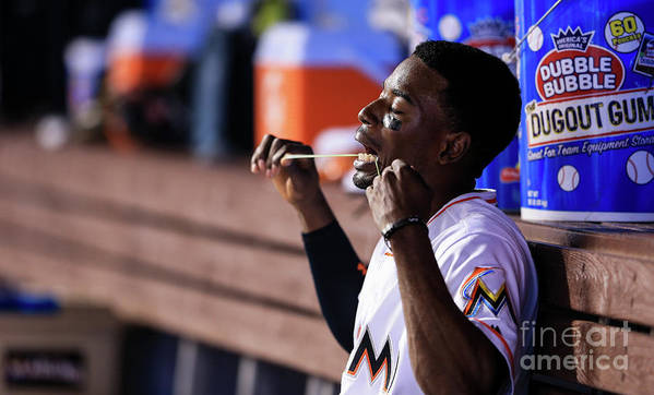 People Poster featuring the photograph Dee Gordon by Rob Foldy