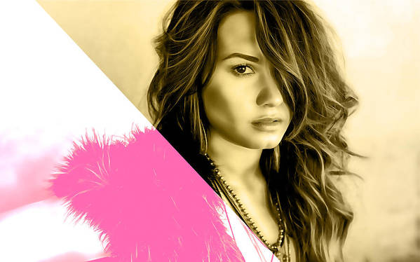 Demi Lovato Collection Poster by Marvin Blaine