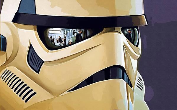 Star Wars Sith Poster featuring the digital art Star Wars Heroes Art by Larry Jones