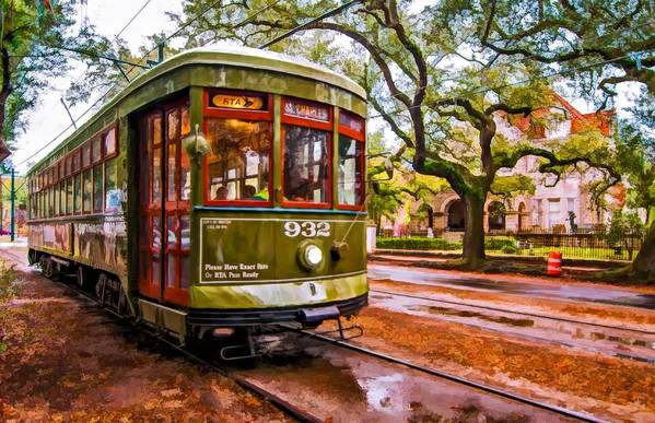 Garden District Poster featuring the photograph New Orleans Classique Oil by Steve Harrington