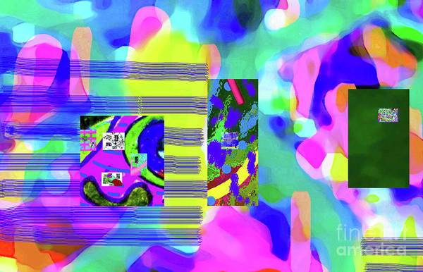 Walter Paul Bebirian Poster featuring the digital art 6-12-2015cabcdefghijkl by Walter Paul Bebirian