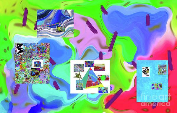 Walter Paul Bebirian Poster featuring the digital art 6-19-2015dabcdefghijk by Walter Paul Bebirian