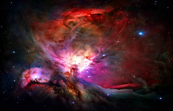 Orion Nebula Poster featuring the photograph Orion Nebula by Michael Tompsett