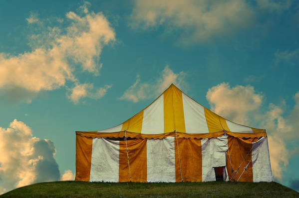 Laura Fasulo Poster featuring the photograph Big Top by Laura Fasulo