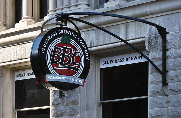 Bluegrass Brewing Company Poster featuring the photograph Bluegrass Brewing Company by Greg Jackson