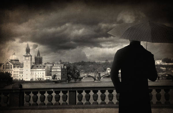 Prague Poster featuring the photograph If by Taylan Apukovska