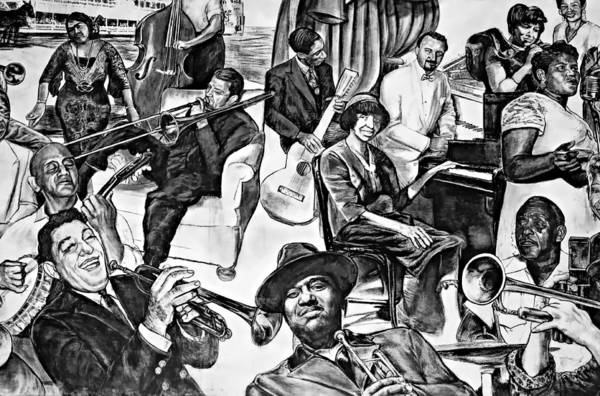 Nola Poster featuring the photograph In Praise Of Jazz II by Steve Harrington