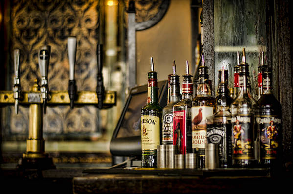 Alcohol Poster featuring the photograph Pick Your Poison by Heather Applegate