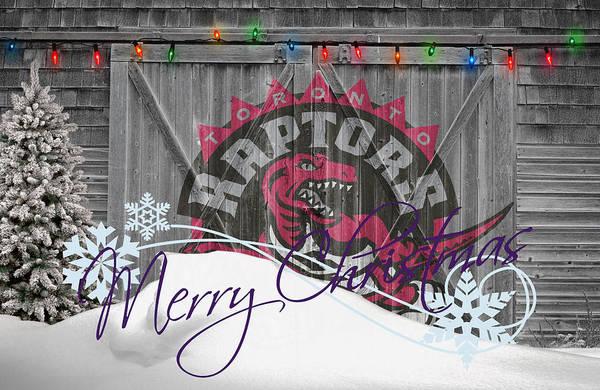 Raptors Poster featuring the photograph Toronto Raptors by Joe Hamilton