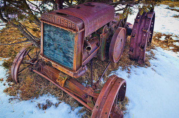 America Poster featuring the photograph Vintage John Deere by Inge Johnsson