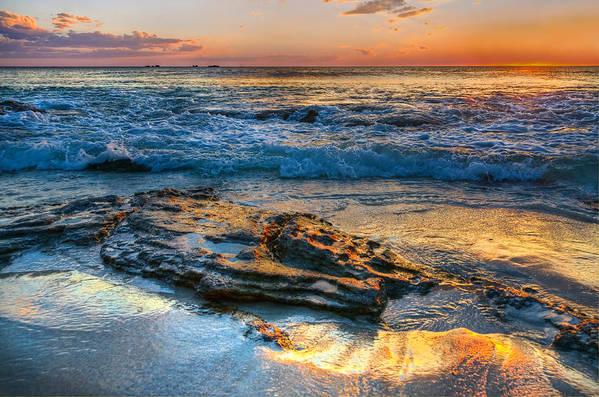 Australia Poster featuring the photograph Burns Beach Wa by Imagevixen Photography
