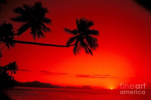 Beautiful Poster featuring the photograph Fiji, Kadavu Island by Ron Dahlquist - Printscapes