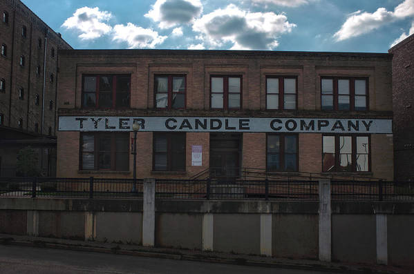 Tyler Texas Poster featuring the photograph Tyler Candle Company by Eugene Campbell
