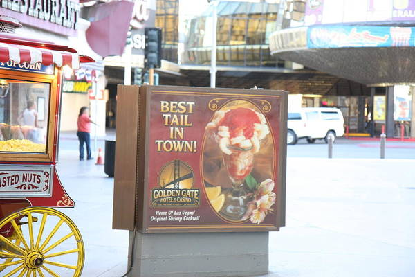 Las Poster featuring the photograph Las Vegas - Fremont Street Experience - 12128 by DC Photographer