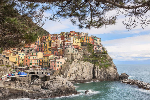 Manarola Poster featuring the photograph Manarola by Joana Kruse