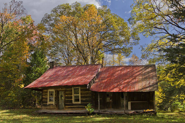 Appalachia Poster featuring the photograph The Old Homestead by Debra and Dave Vanderlaan