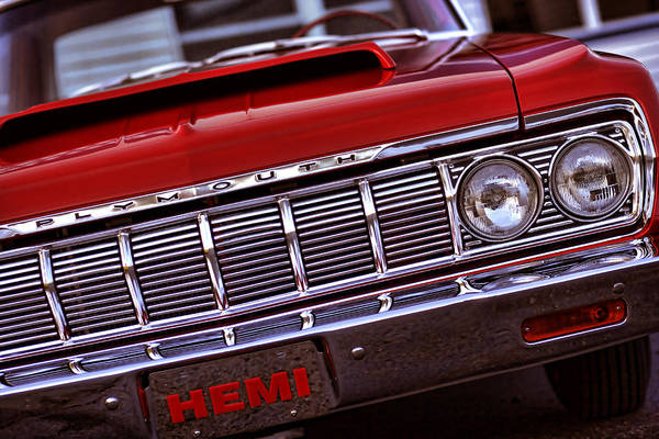 1964 Poster featuring the photograph 1964 Plymouth Savoy by Gordon Dean II