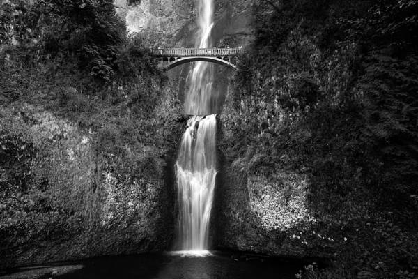 Waterfalls Poster featuring the photograph Multnomah Falls by Peter Tellone