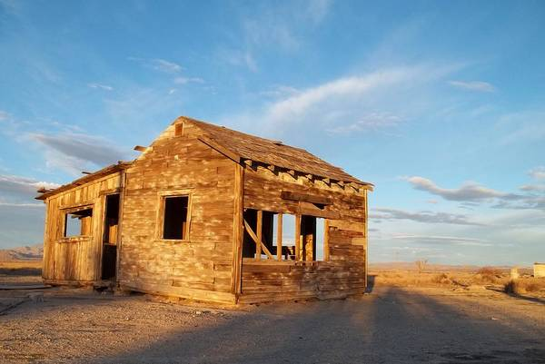 Old Home Poster featuring the photograph Abandoned - California Desert by Glenn McCarthy Art and Photography