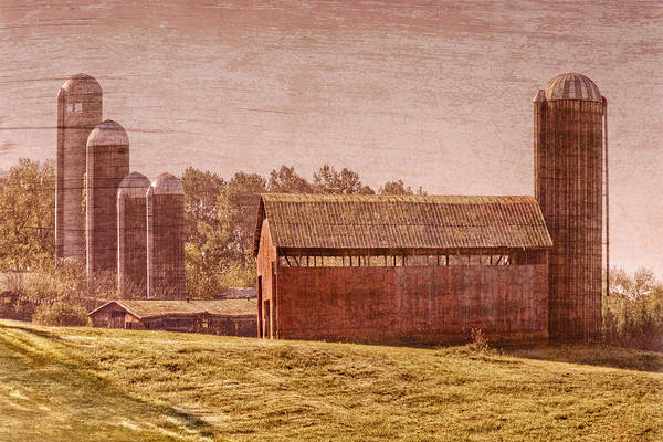 Appalachia Poster featuring the photograph Amish Farm by Debra and Dave Vanderlaan