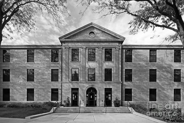 Augustana Poster featuring the photograph Augustana College Carlsson Evald Hall by University Icons