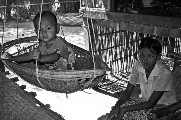 Child Poster featuring the photograph Burmese Mother And Son by RicardMN Photography