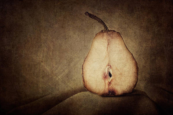 Pear Poster featuring the photograph Dying Inside by Amy Weiss
