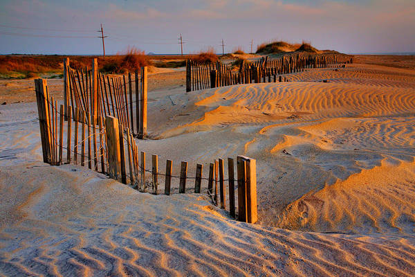 Sunrise Poster featuring the photograph Early Morning On The Dunes I by Steven Ainsworth