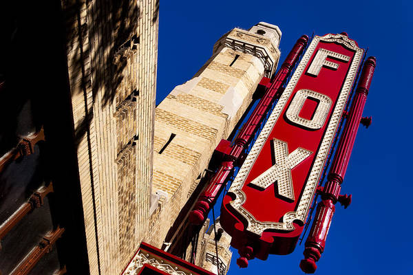 Atlanta Poster featuring the photograph Fabulous Fox In Atlanta by Mark Tisdale