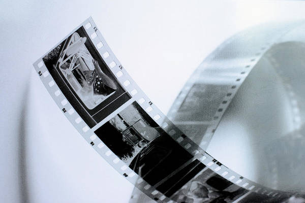 Slide Poster featuring the photograph Film Strips by Tommytechno Sweden