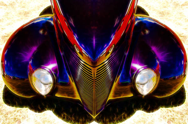 Chevrolet Poster featuring the photograph Hot Rod Eyes by motography aka Phil Clark