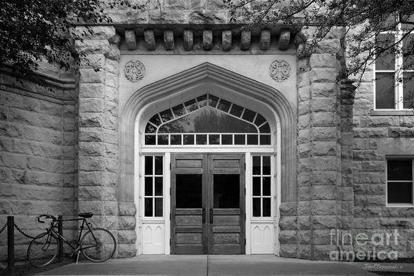 Altgeld Poster featuring the photograph Illinois State University Cook Hall by University Icons