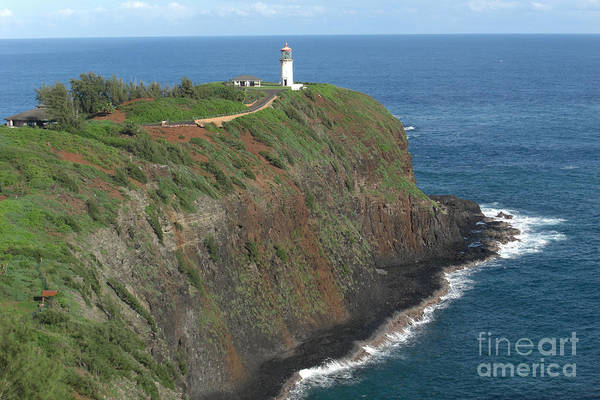 Kauai Poster featuring the photograph Kilauea Lighthouse by Deborah Smolinske