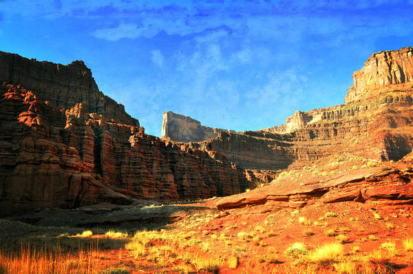 Canyonlands National Park Poster featuring the photograph Magnificent Butte by Marty Koch