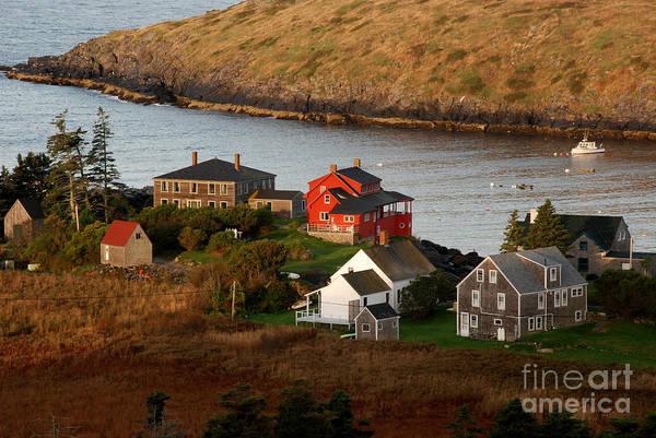 Monhegan Island Poster featuring the photograph Monhegan Island Maine 142 by Cindy McIntyre