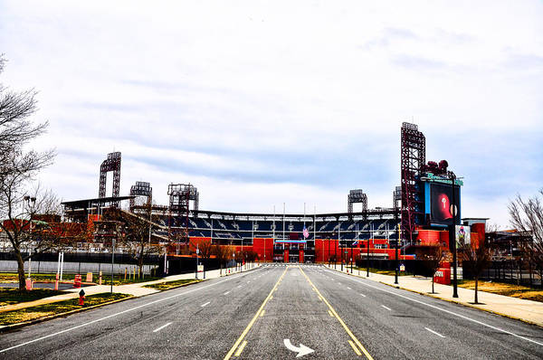 Phillies Stadium - Citizens Bank Park Poster featuring the photograph Phillies Stadium - Citizens Bank Park by Bill Cannon