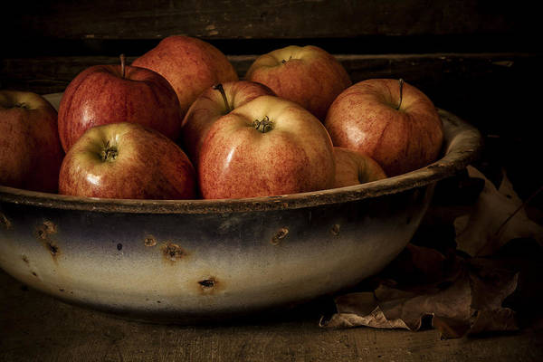 Apple Poster featuring the photograph Remembering Autumn by Amy Weiss