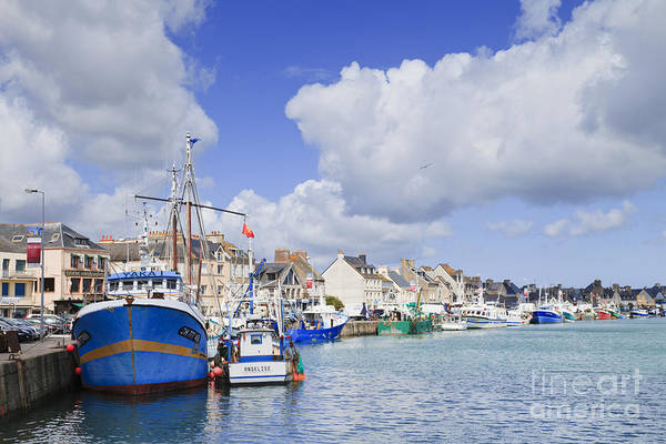 Calm Poster featuring the photograph Saint Vaast La Hougue Normandy France by Colin and Linda McKie