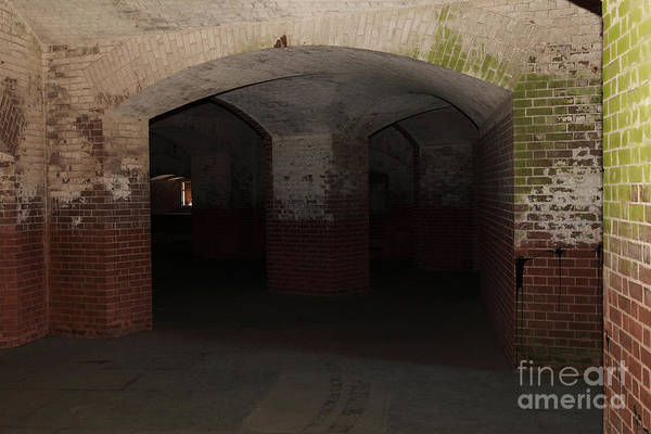 San Francisco Poster featuring the photograph San Francisco Fort Point 5d21548 by Wingsdomain Art and Photography