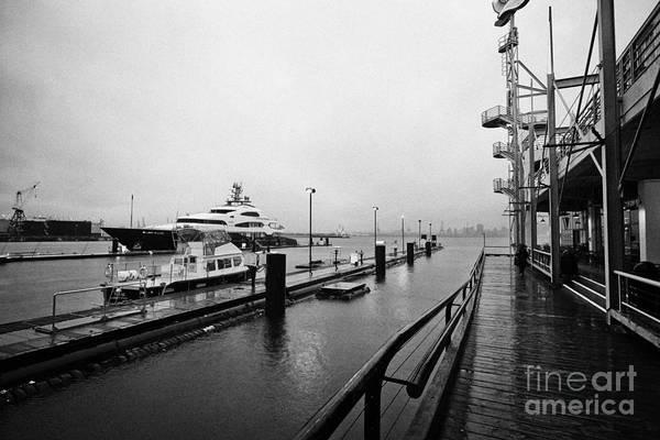 Seaspan Poster featuring the photograph seaspan marine tugboat dock city of north Vancouver BC Canada by Joe Fox