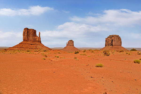 East Poster featuring the photograph Signatures Of Monument Valley by Christine Till
